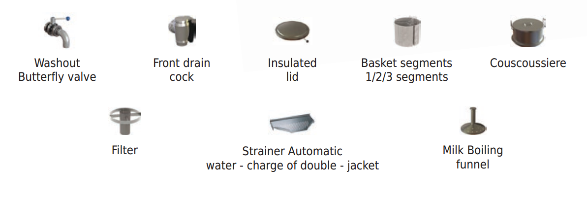 Boiling Kettle Accessories
